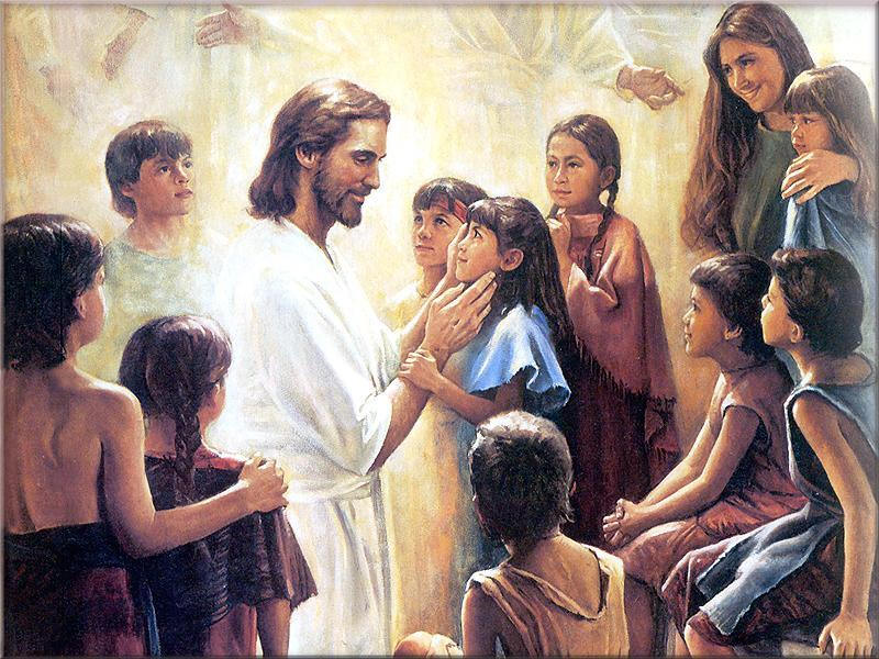 Jesus Said  Let The Little Children  E To Me And Do Not Hinder